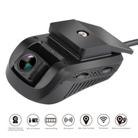 3G GPS Tracker Car Smart Dash Cam Car DVR JC100 Vehicle Tracker Dual Lens Full HD 1080P 140Degree WiFi Night Vision G sensor WDR