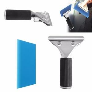 Image 2 - New Car Auto Window Film Tinting Squeegee Razor Blade Scraper Tool With Handle