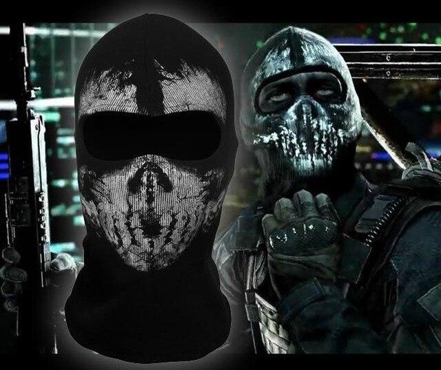 Call Of Duty 10 Cod Ghosts Logan Balaclava Ski Skull Hood: New Cosplay Ghost Balaclava Full Face Skull Mask Hood