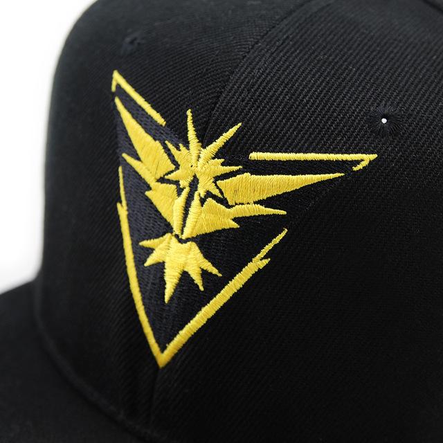 Pokemon Go Equipo Instinto Gorra de Béisbol