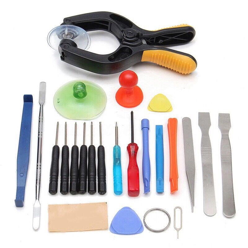 24 in 1 Repair Tools Kit Screen Pliers Screwdrivers Set Mobile Phone Tablet
