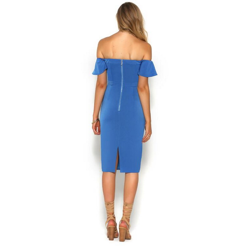 Tonlinker Women Elegant Club Party Strappless Dress Summer Women Sexy Night Dresses Bow Knot Backless Bandage Dress Vestidos in Dresses from Women 39 s Clothing