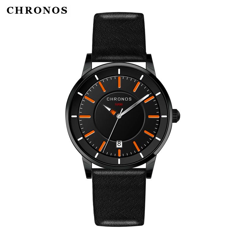Prix pour Chaude marque chronos de luxe célèbre mâle horloge montre à quartz montre-bracelet à quartz-montre relogio masculino militaire étanche heure