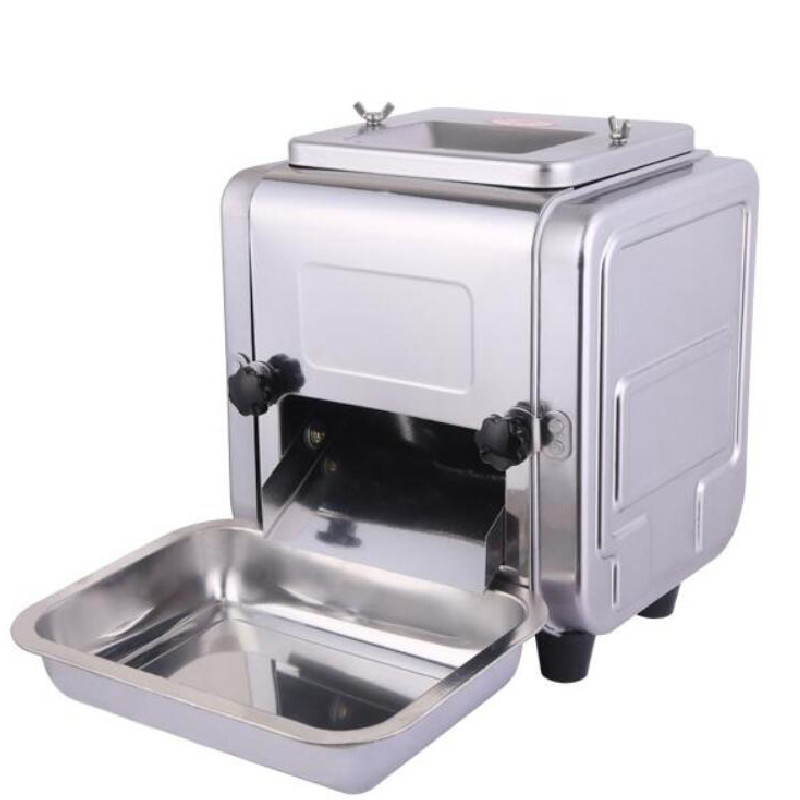 BEIJAMEI Lower Price Desktop Meat Slicer Stainless Steel Meat Grinder Commercial Electric Meat Cutting Machine Cutter free shipping exports to united states 110v 220v desktop type meat cutter meat cutting machine meat slicer