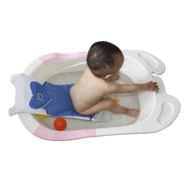 Práctico Bebé Champú Baño de Rack Nueva Buena Calidad Portátil Infantil Red Cama Baño de Ducha Asiento De La Silla Chaise Lounge Bandeja