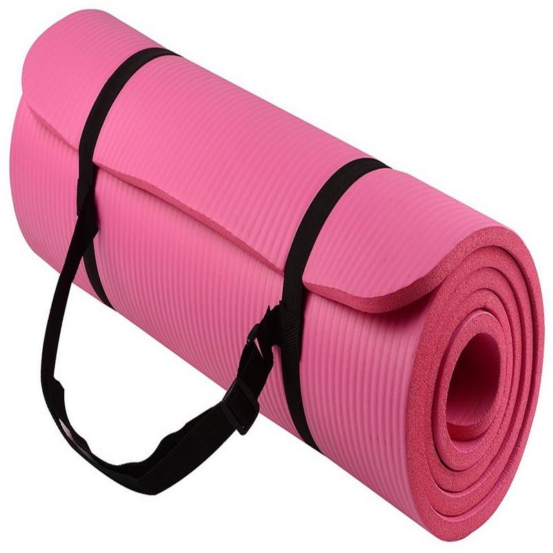 Sports Yoga Mat Multifunctional Yoga Mat Sling Strap Elastic NBR Non-slip Fitness Gym Belt For Sports Exercise 6 Colors