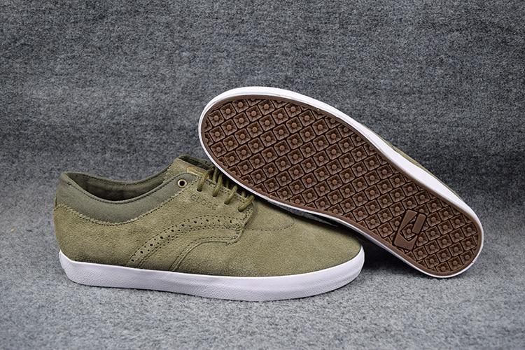 2016 GLOBE TAURUS Teenagers Skaters Shoes Olive Anti-Fur Street BOY Shock-Absorbant Footwear Sizes7-11 Available