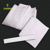 Itf 어린이 성인 적합한 흰색 정장 뜨거운 판매 태권도 도복 전문 유니폼 절묘한 자수 35% 코튼 편안한