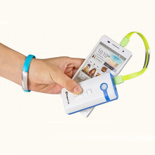 Micro USB Cable Bracelet Data Charging Line Wristband For Android Cellphone Charger Sync Data 6Colors