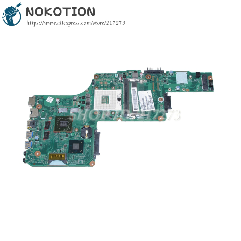NOKOTION V000275440 Laptop Motherboard For Toshiba Satellite L855 L850 DK10FG-6050A2509901-MB-A02 HD4000 <font><b>HD</b></font> <font><b>7670M</b></font> DDR3 image