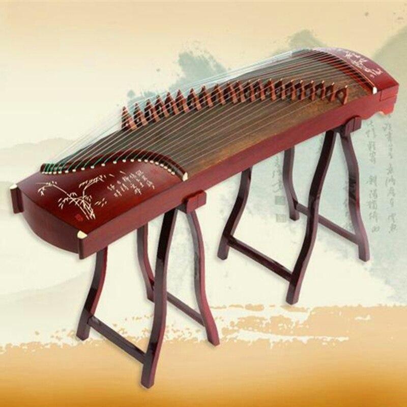 """חיקוי rosewood סין Guzheng ילדי מקצועי 125 ס""""מ קטן מיני guzheng מוסיקה מכשיר ציתר עם אביזרים מלאים"""