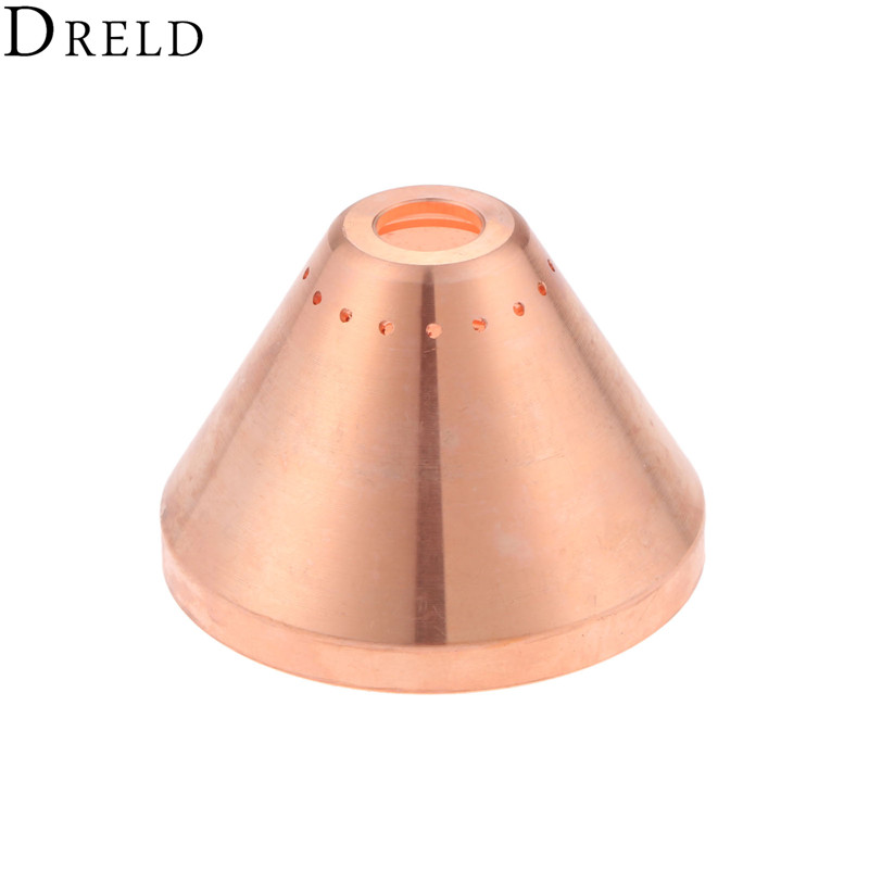DRELD 1pc 105A-125A Cutting Torch Shield Cap 220976 For 65 85 105 125 Plasma Cutting Torch Consumables Welding Soldering Tools