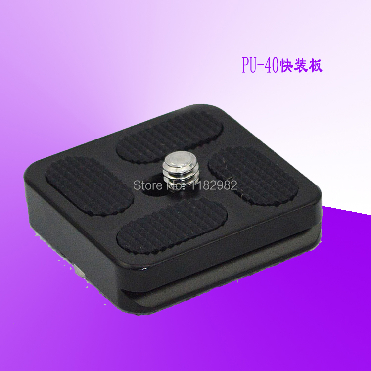 Exempt postage + tracking number camera Quick Release Plate PU-40 camera Safe Screw Outstanding quality