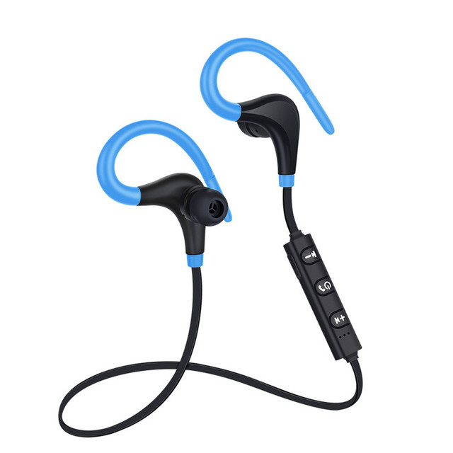 2019 Newest Bluetooth 4.1 Wireless Headphone Stereo Sports Ear Hook Earbuds In-Ear Headset Lightweight For iPhone For android