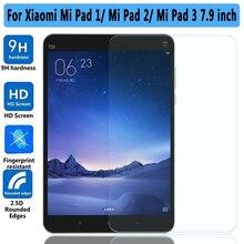 100% de Alta Calidad 9 H Vidrio Templado para Xiaomi mi Pad 1 2 3 Protector de pantalla Para Xiaomi mi Pad 3 2 1 7.9 pulgadas de Cristal Templado