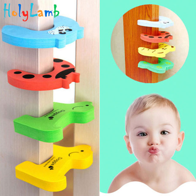 2018 Cute Animal Protection Baby Safety Security Card Door Stopper Baby Newborn Care Lock Protection From Children