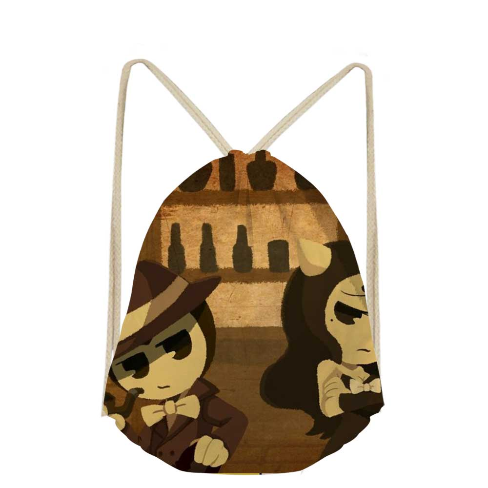 Functional Bags Brand Toy Drawstring Bag Brand And The Ink Machine Students Small School Bags Kids Travel Bags Boys Girls Beach Bags Luggage & Bags