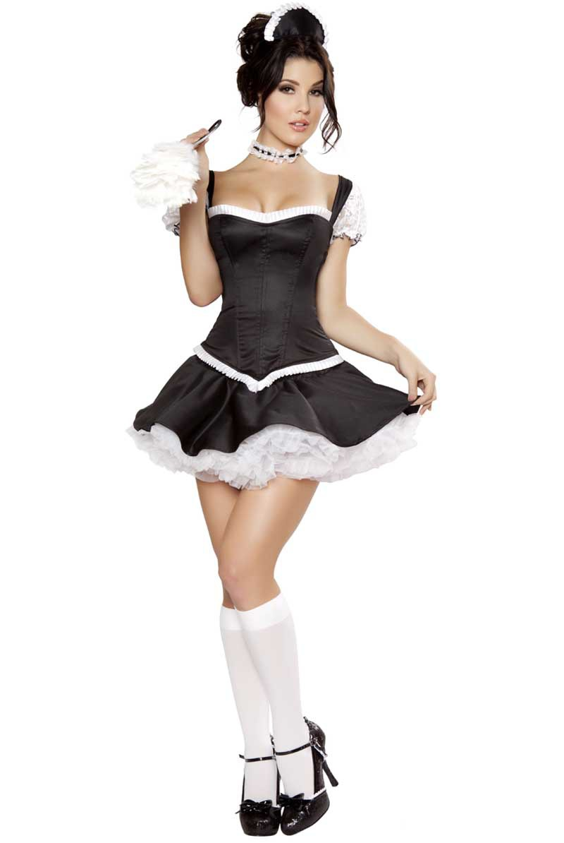 Popular French Maid Costumes-Buy Cheap French Maid -1131