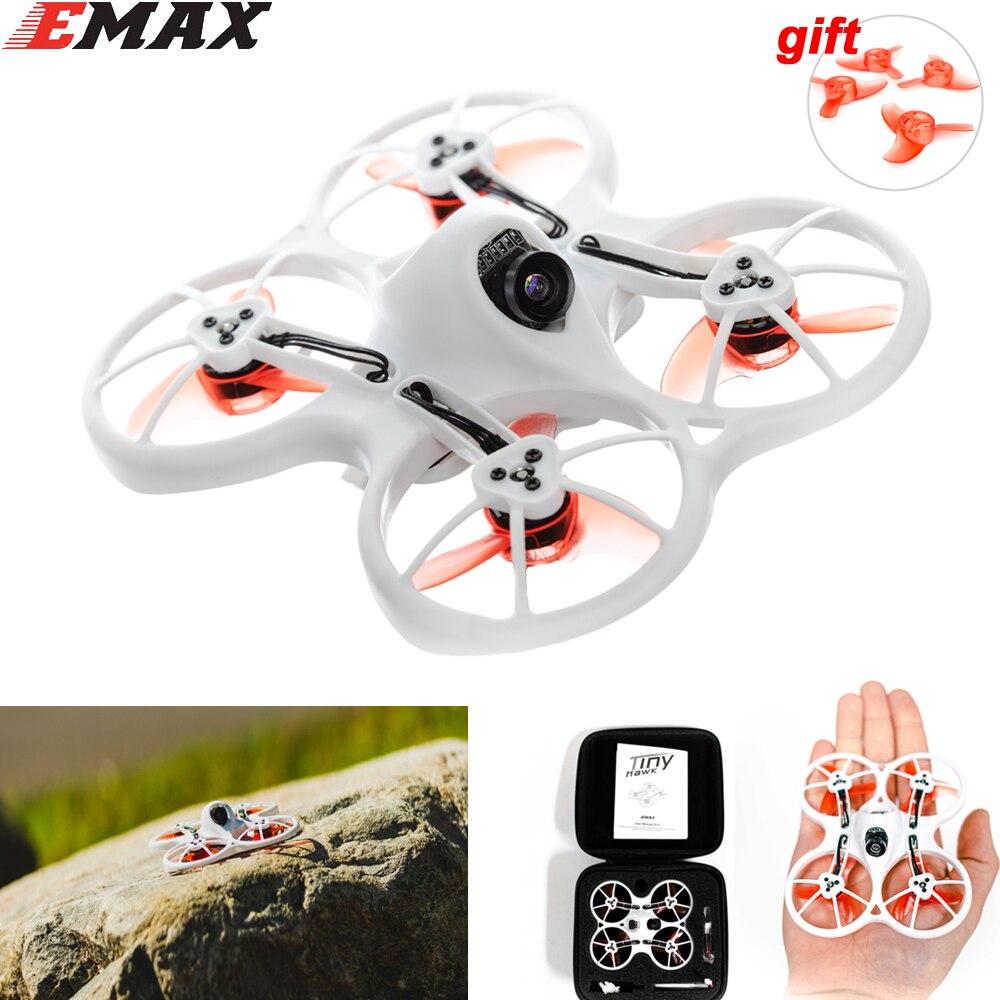 Emax Tinyhawk 75mm F4 Magnum Mini 5,8G FPV Racing con cámara RC Drone 2 ~ 3 S BNF con 2 pares de 40mm de las hélices para regalo
