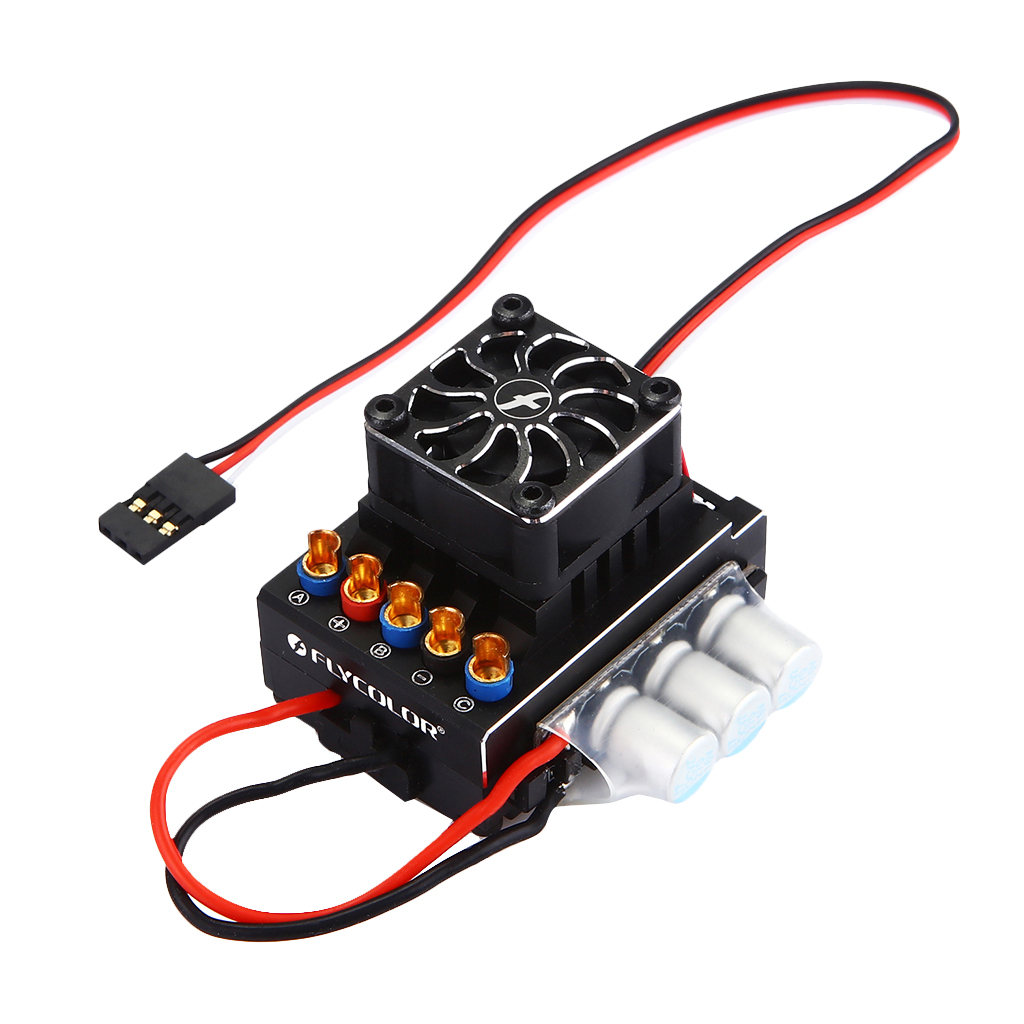 80A RC Car Sensored Sensorless Brushless Motor Electric Speed Controller ESC 1 10 80a adjustable sensored sensorless brushless esc for car truck