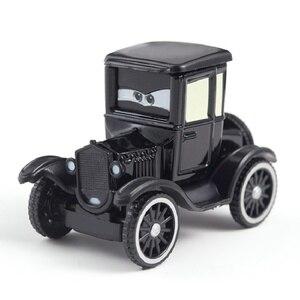 Image 1 - Disney Pixar Cars 2 Lightning McQueen Jackson Storm Cruz Mater Uncle Truck 1:55 Diecast Metal Car Model Christmas Gift Child Toy