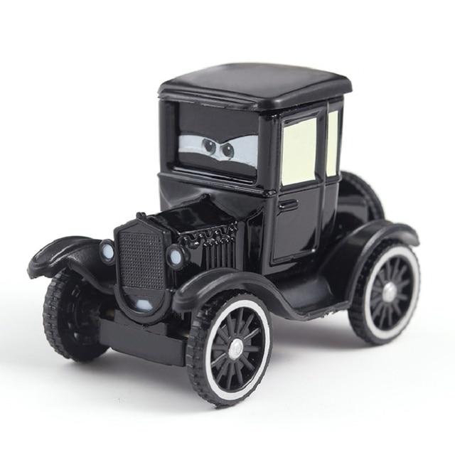 Disney Pixar Cars 2 Lightning McQueen Jackson Storm Cruz Mater Uncle Truck 1:55 Diecast Metal Car Model Christmas Gift Child Toy