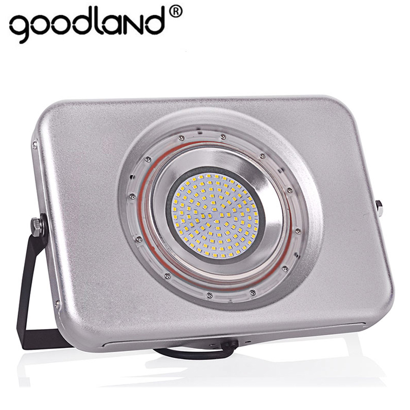 Ultrathin LED Floodlight 220V 240V LED Flood Light 10W 20W 30W 50W Reflexector LED Spotlight Արտաքին լուսավորություն Անջրանցիկ IP67