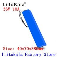 LiitoKala 36V 10Ah 42V 18650 Streifen lithium-ionen batterie pack mit 20A BMS Für ebike elektrische auto fahrrad motor roller 600Watt