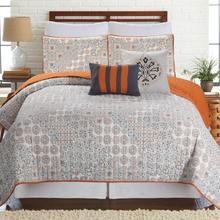 Colcha vintage de calidad Set 3 uds Coverlet/edredones acolchado cubrecama sábanas funda de almohada
