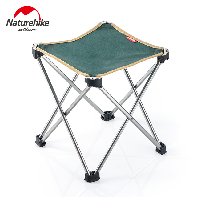 Naturehike Aluminium Alloy Stool Ultralight Portable Folding Outdoor Camp Chair Tulip For Fishing Sketching