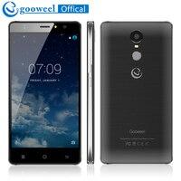 Satış! Gooweel M17 4G Smartphone Parmak Izi KIMLIK MTK6737 Quad core 5.5 inç HD IPS Android 6.0 Cep telefonu 1 GB + 16 GB 8MP cep telefonu