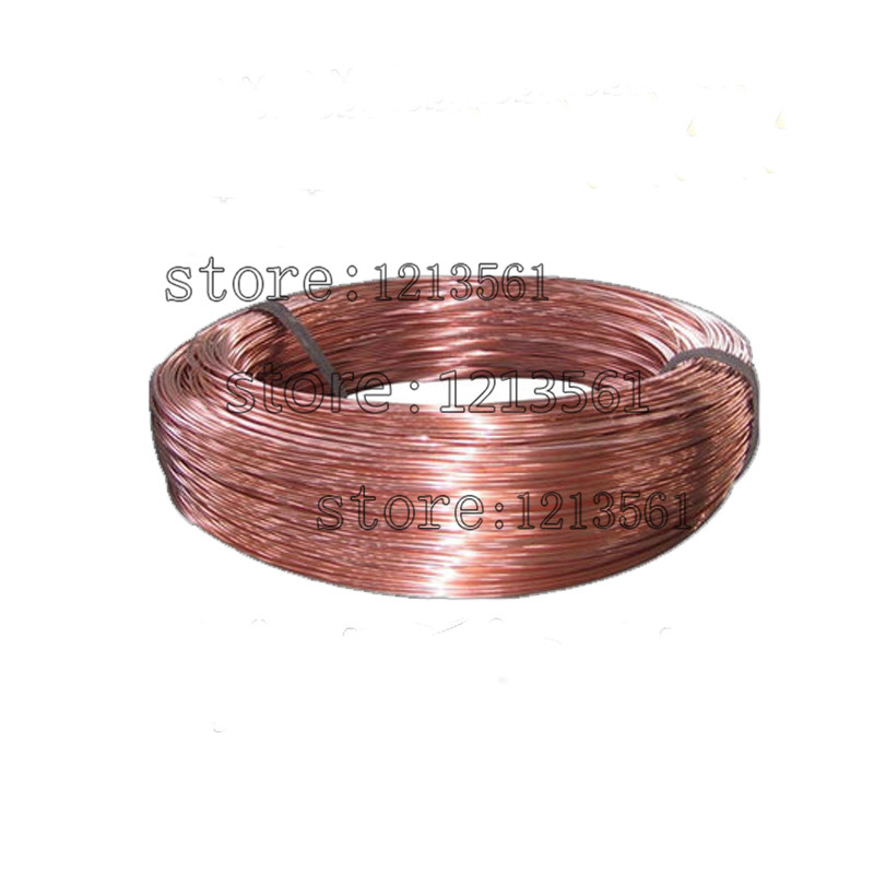 New  Gauge Soft Pure Solid Bare Copper Bright Wire Coil For Jewelry Crafts Making 20m Or 40m Diy Natural Red Copper Wire