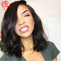Grade 8A Bob Lace Front Wigs Human Hair For Black Women Virgin Brazilian Long Bobs Full Lace Wigs With Baby Hair Bleached Knots