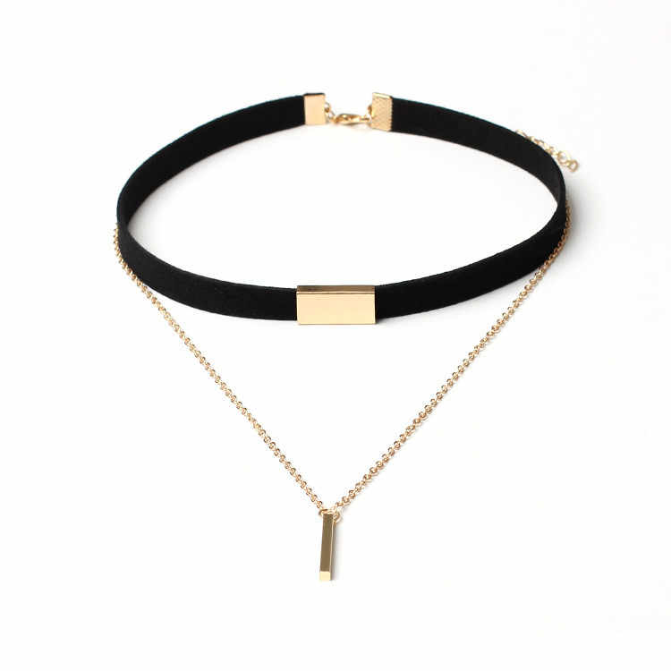Pendant Necklace Women Necklaces Stylish Gold Chain Bohemia Ladies Choker Necklace Jewelry Pendant Collares De Moda 2019   L0605
