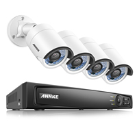 ANNKE HD 4CH 6MP NVR Network POE 1080P 2 0MP Video WDR VCA Security Camera System