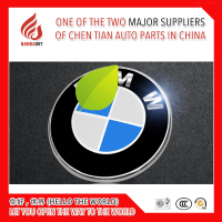 High quality ABS car logo emblem front rear emblem for BMW 3 series 5 series and so on