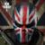 UK Flag Máscaras Tácticos Riding Deporte Juego de Guerra Soldado Fantasma Máscara de Cara Completa Transpirable Cráneo Divertido Máscara Cosplay Máscara Asesino