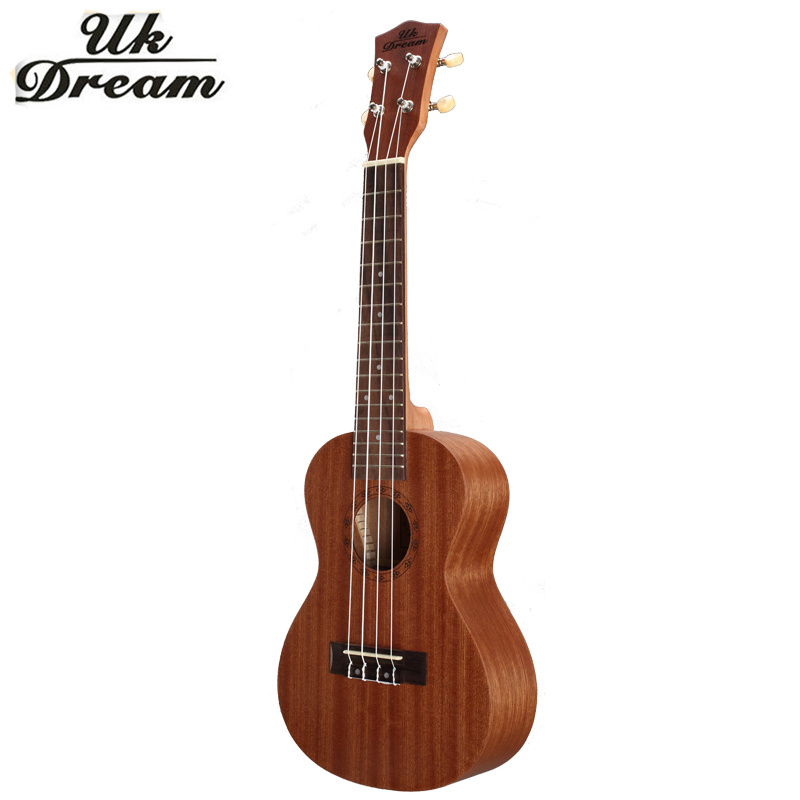 23 inch 4 strings Mini Acoustic Guitar Full Sapele Ukulele Musical Stringed Instruments Guitar 17 Frets Rosewood Guitars UC-110 hlby good deal 17 mini ukelele ukulele spruce sapele top rosewood fretboard stringed instrument 4 strings with gig bag 2