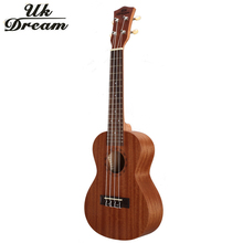 23 inch 4 strings Mini Acoustic Guitar Full Sapele Ukulele Musical Stringed Instruments Guitar 17 Frets Rosewood Guitars UC-110 small guitars 23 inch 4 strings ukulele full flame maple classical guitar acoustic guitar profession musical instruments uc a6