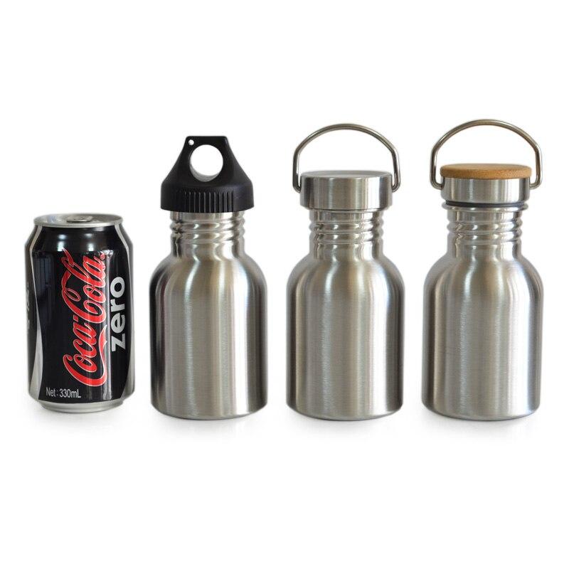 bpa free full stainless steel water bottle leak proof jar sports