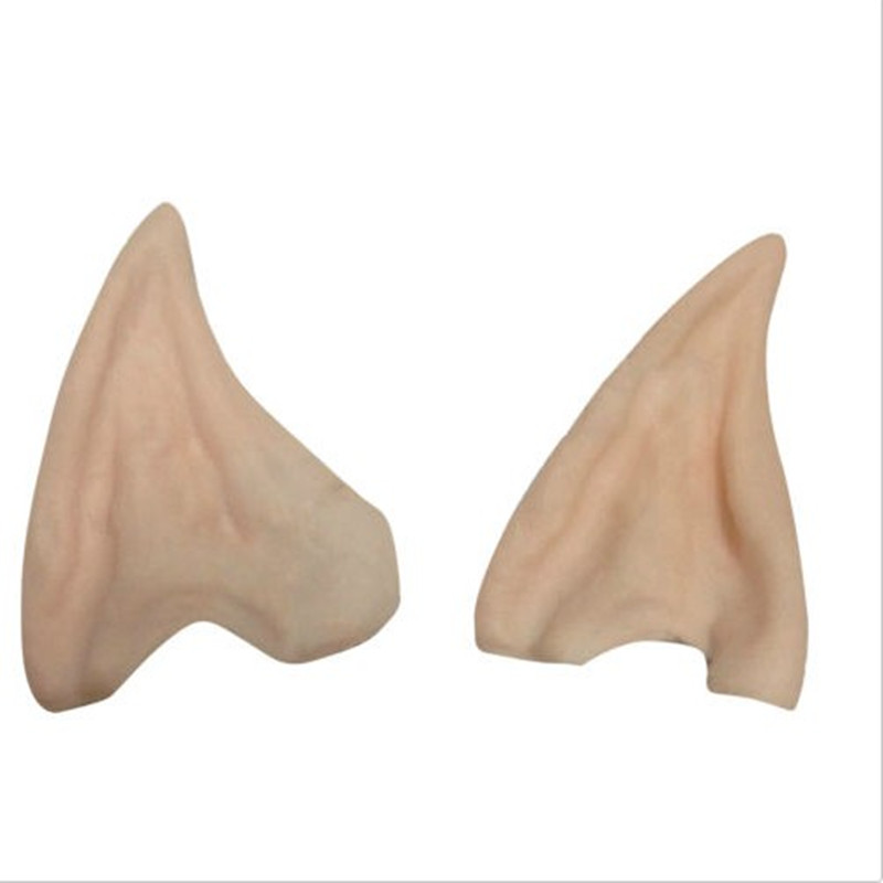 Halloween Costume Ear Tips Elf Fairy Hobbit Vulcan Spock Alien Cosplay LARP