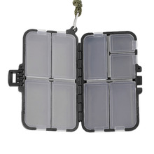 Fishing Tackle Boxes Fishing Accessories Case Fish Lure Bait Hooks Tackle Tool for Storing Swivels, Hooks, Lures, etc