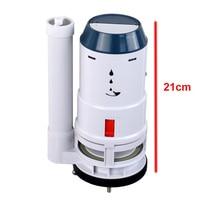 Toilet tank fittings kit 8cm diameter drain outlet valve Dual flush toilet repair kit Suitable for one piece toilet