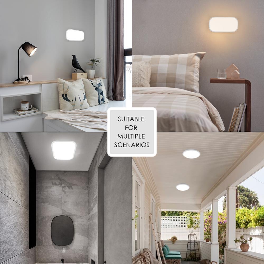 Led Wall Light Surface Mounted Lighting Fixture 15W 20W Bathroom Living Room Kitchen 110V 220V IP65 Waterproof Outdoor La 6