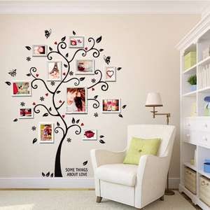 COLOR CASA 3D Wall Decals/Adhesive Wall Stickers Home Decor