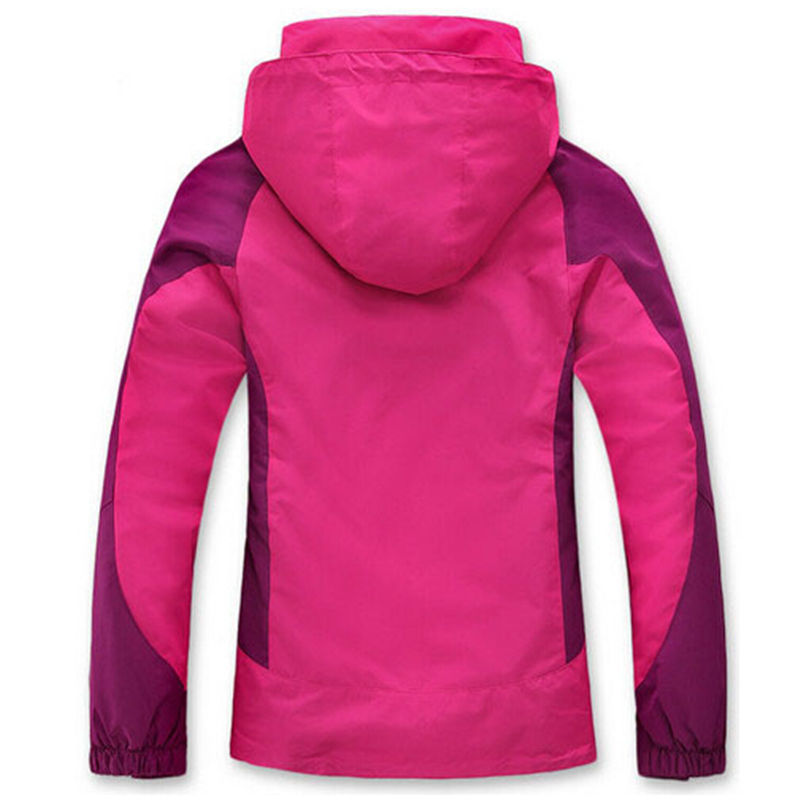 2018 3 Modalità 1 Giacche pink Mujer Nuvole Antivento Marca Inverno Sky green Moda In red purple Giacca Impermeabile Donna Blue wiOZTklPXu