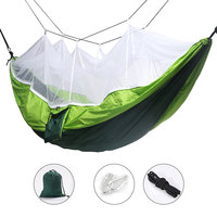Camping Hammock Portable Mosquito Hammocks Lightweight Compact For Outdoor Hiking Camping Backpacking Travel Beach