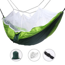 Camping Hammock  Portable Mosquito Hammocks Lightweight & Compact – for Outdoor, Hiking, Camping, Backpacking, Travel,beach