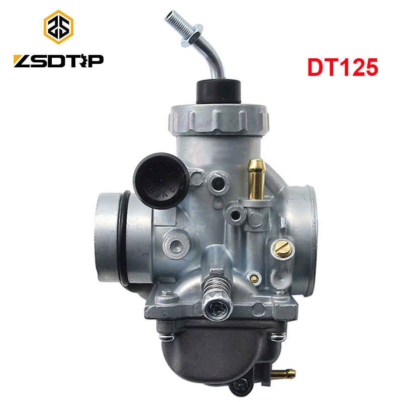 ZSDTRP DT125 Carburetor For <font><b>Yamaha</b></font> DT100 DT125 DT175 RT <font><b>180</b></font> RT180 1990-1998 Motocycle Carb image