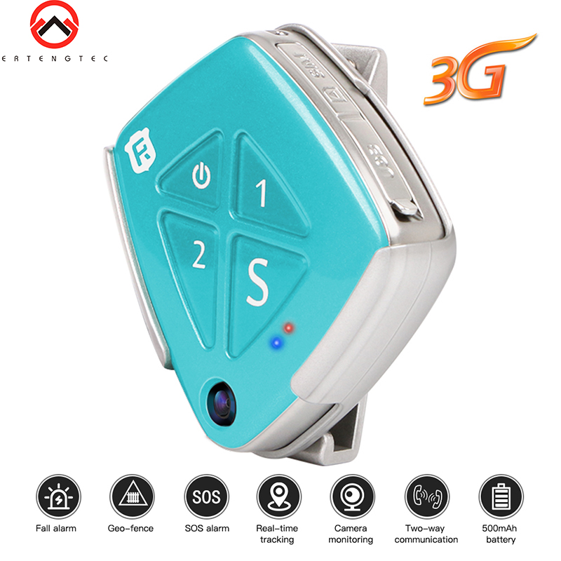 3G GPS Tracker Child SOS Camera Mini GPS Tracking Kids Locator WCDMA GSM Track GPS Wifi LBS Positioning Pendant Fall alarm цена 2017
